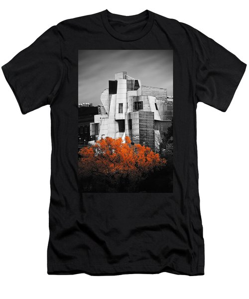 autumn at the Weisman Men's T-Shirt (Slim Fit) by Matthew Blum