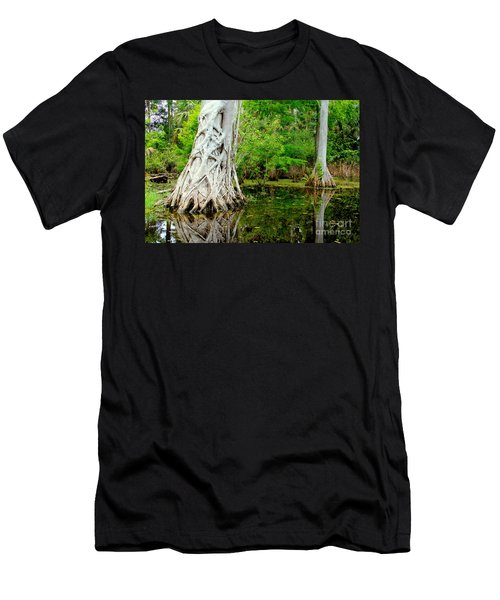 Backcountry Men's T-Shirt (Slim Fit) by Carey Chen