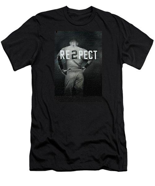 Baseball Men's T-Shirt (Slim Fit) by Jewels Blake Hamrick