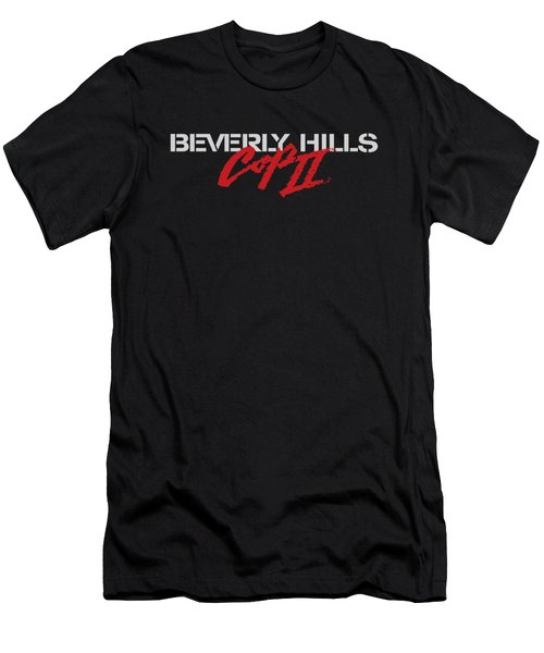 Bhc II - Logo Men's T-Shirt (Slim Fit) by Brand A