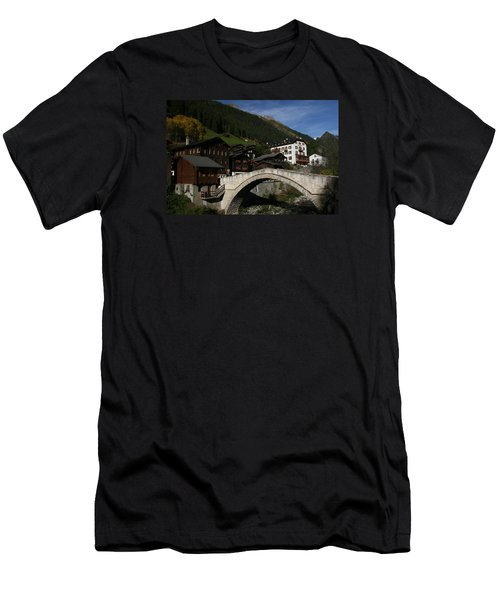Men's T-Shirt (Slim Fit) featuring the photograph Binn by Travel Pics