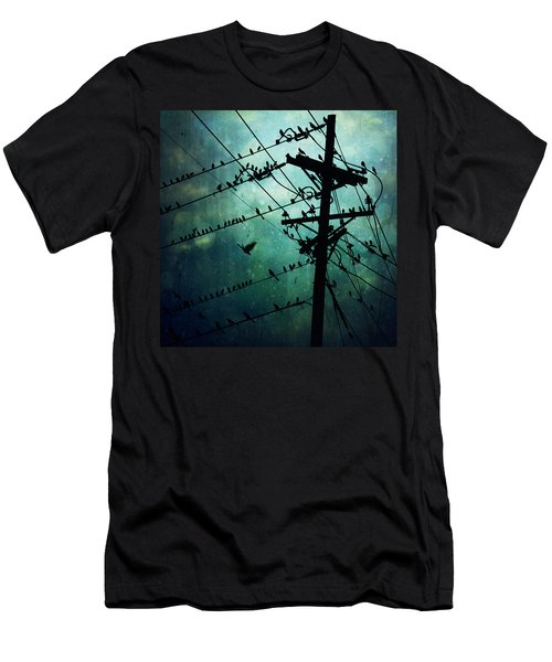 Bird City Men's T-Shirt (Slim Fit) by Trish Mistric