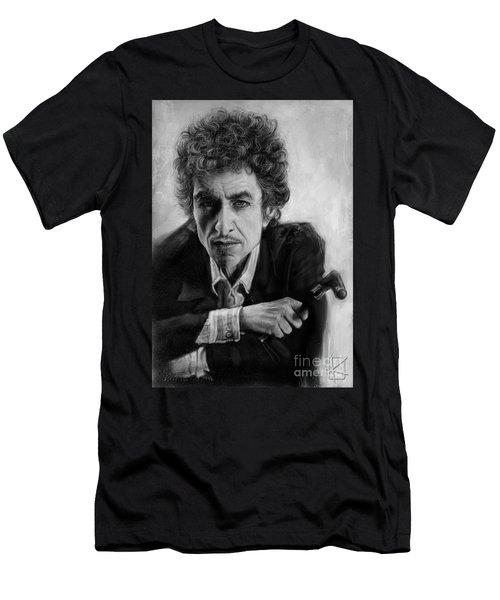 Bob Dylan Men's T-Shirt (Slim Fit) by Andre Koekemoer