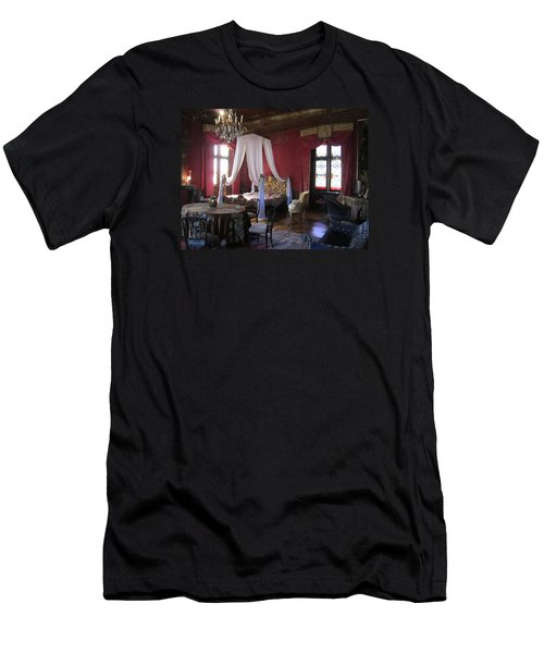 Men's T-Shirt (Slim Fit) featuring the photograph Chateau De Cormatin by Travel Pics