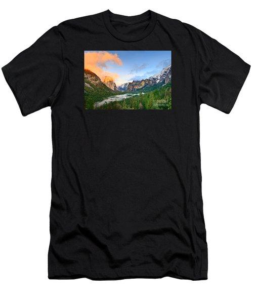 Colors Of Yosemite Men's T-Shirt (Slim Fit) by Jamie Pham