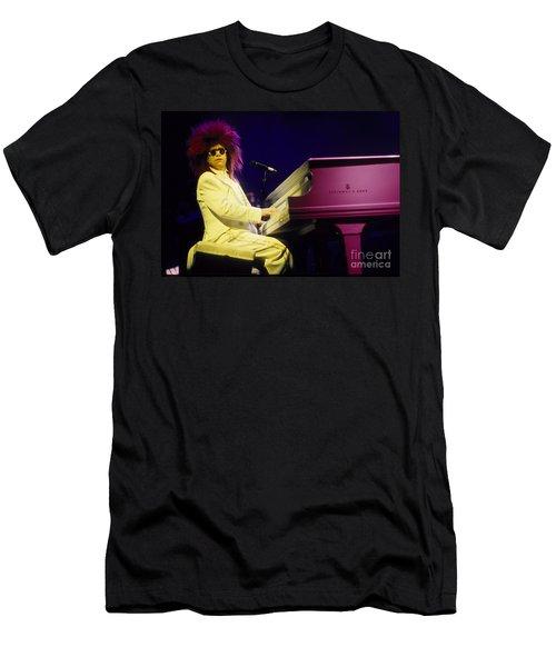 Elton Men's T-Shirt (Slim Fit) by David Plastik