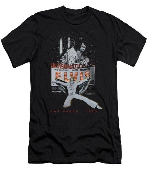Elvis - Las Vegas Men's T-Shirt (Slim Fit) by Brand A