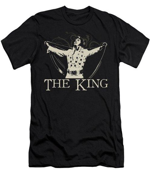Elvis - Ornate King Men's T-Shirt (Slim Fit) by Brand A