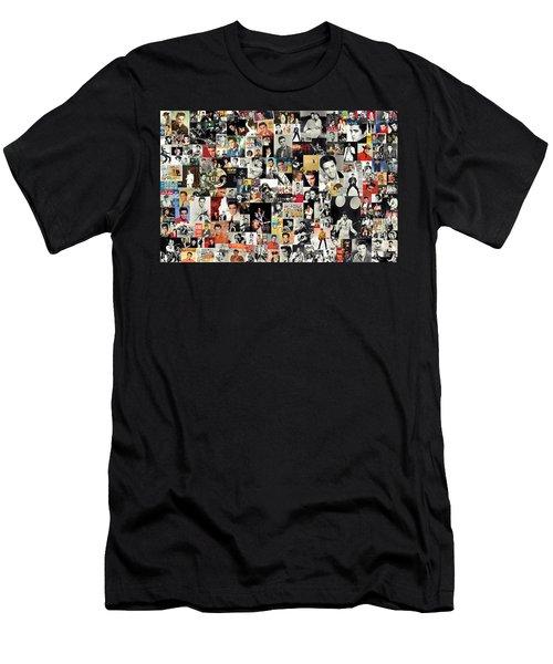 Elvis The King Men's T-Shirt (Slim Fit) by Taylan Soyturk