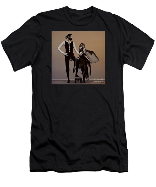 Fleetwood Mac Rumours Men's T-Shirt (Slim Fit) by Paul Meijering