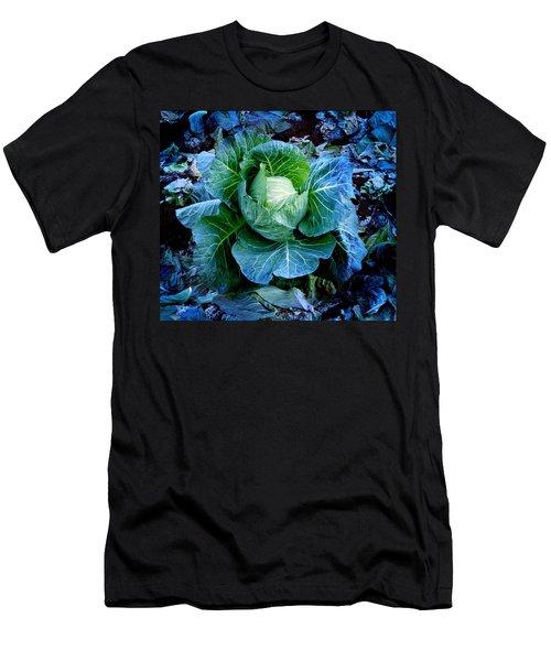 Flower Men's T-Shirt (Slim Fit) by Julian Cook