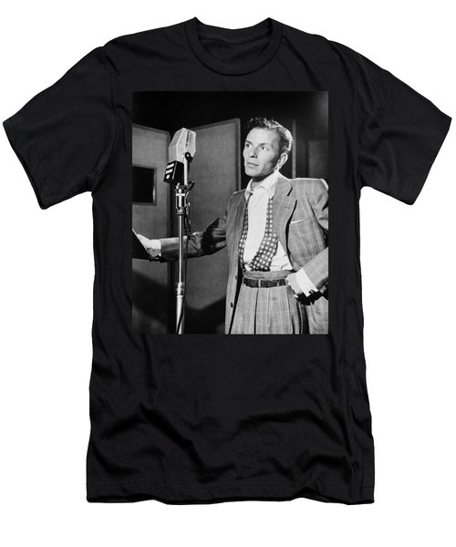 Frank Sinatra Men's T-Shirt (Slim Fit) by Mountain Dreams