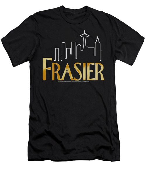 Frasier - Frasier Logo Men's T-Shirt (Slim Fit) by Brand A