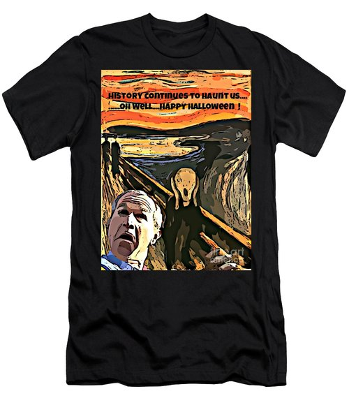 Ghosts Of The Past Men's T-Shirt (Slim Fit) by John Malone
