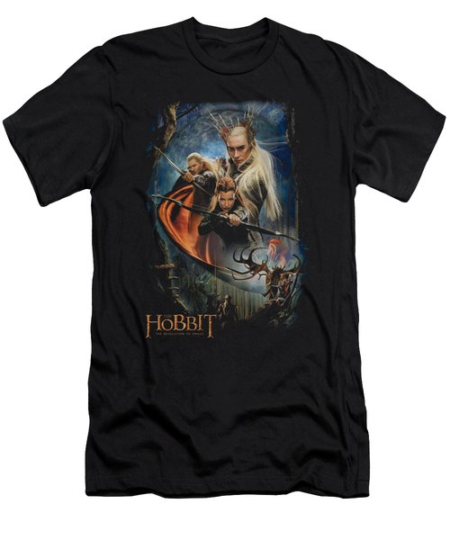 Hobbit - Thranduil's Realm Men's T-Shirt (Slim Fit) by Brand A