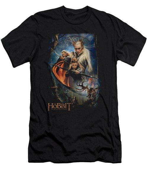 Hobbit - Thranduil's Realm Men's T-Shirt (Slim Fit) by Brand A