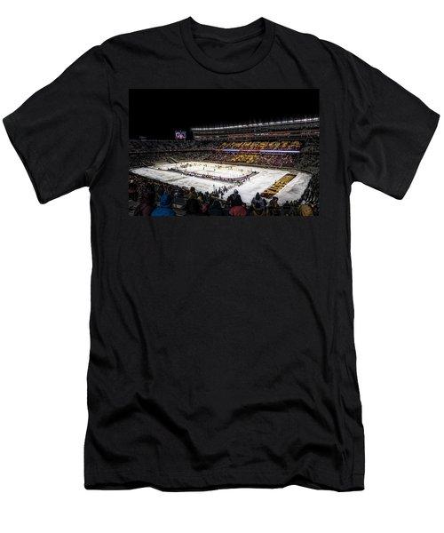 Hockey City Classic Men's T-Shirt (Slim Fit) by Tom Gort