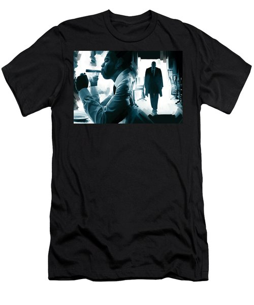 Jay-z Artwork 3 Men's T-Shirt (Slim Fit) by Sheraz A