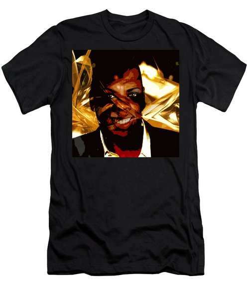 Jay-z Knowles Men's T-Shirt (Slim Fit) by Jean raphael Fischer