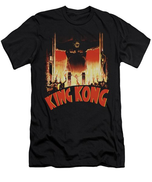 King Kong - At The Gates Men's T-Shirt (Slim Fit) by Brand A