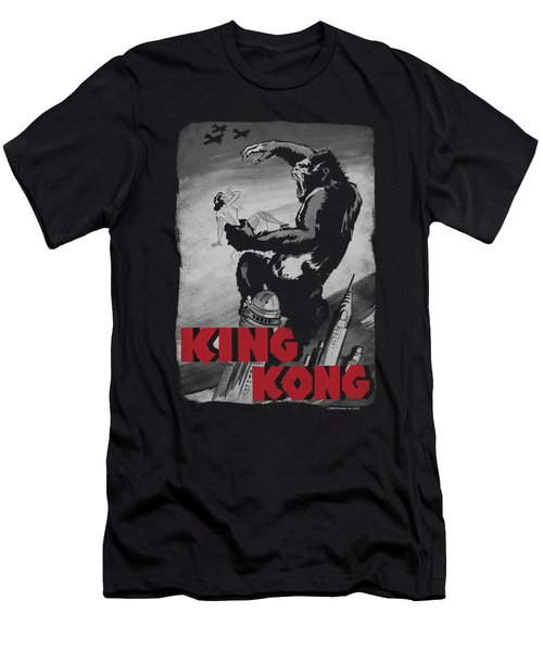 King Kong - Planes Poster Men's T-Shirt (Slim Fit) by Brand A