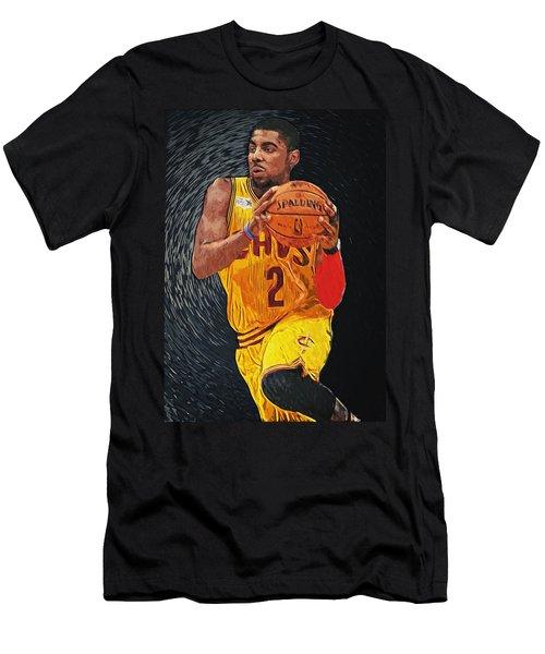 Kyrie Irving Men's T-Shirt (Slim Fit) by Taylan Apukovska