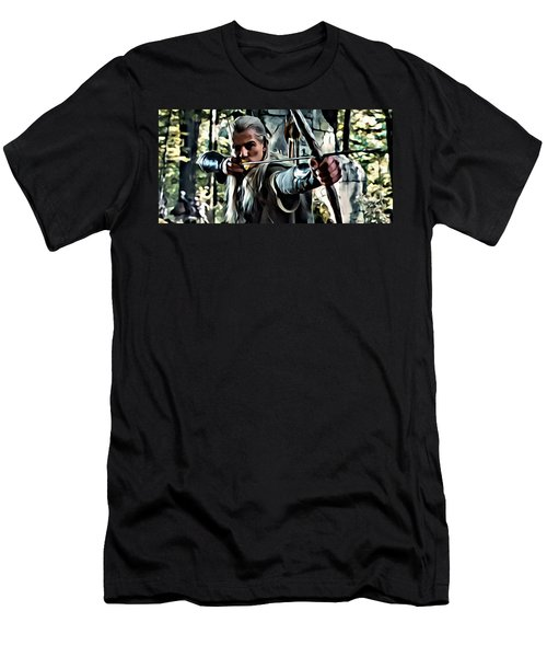 Legolas Men's T-Shirt (Slim Fit) by Florian Rodarte