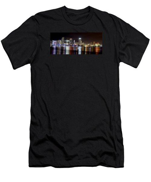 Miami - Florida  Men's T-Shirt (Slim Fit) by Brendan Reals