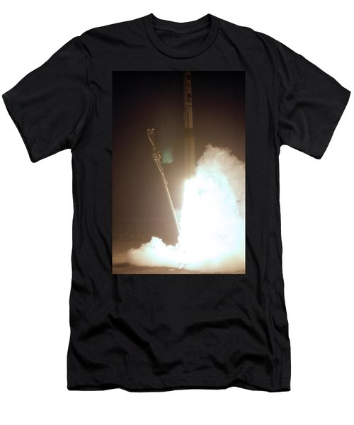 Minotaur Rocket Launch Men's T-Shirt (Slim Fit) by Science Source