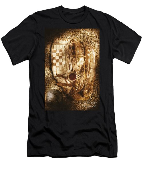 Mitts And Squiggles  Men's T-Shirt (Slim Fit) by Jorgo Photography - Wall Art Gallery