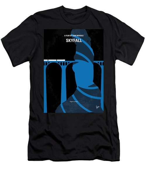 No277-007-2 My Skyfall Minimal Movie Poster Men's T-Shirt (Slim Fit) by Chungkong Art