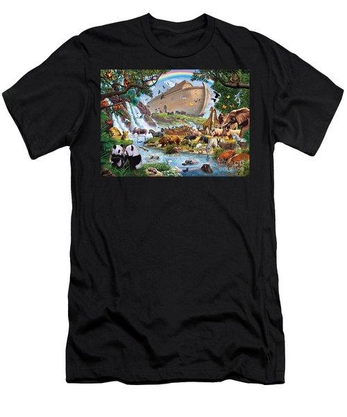 Noahs Ark - The Homecoming Men's T-Shirt (Slim Fit) by Steve Crisp