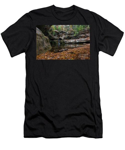 Old Mans Cave Men's T-Shirt (Slim Fit) by James Dean