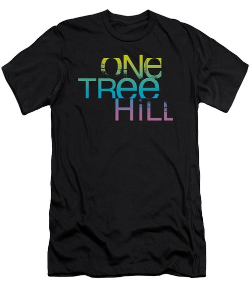 One Tree Hill - Color Blend Logo Men's T-Shirt (Slim Fit) by Brand A