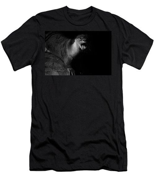 Otter Wars Men's T-Shirt (Slim Fit) by Martin Newman