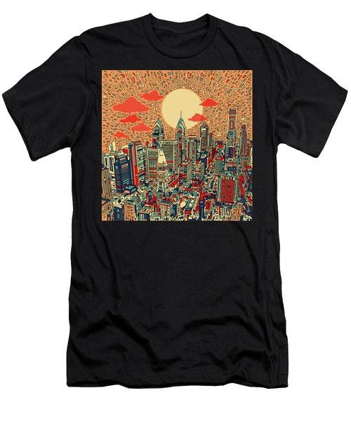Philadelphia Dream Men's T-Shirt (Slim Fit) by Bekim Art