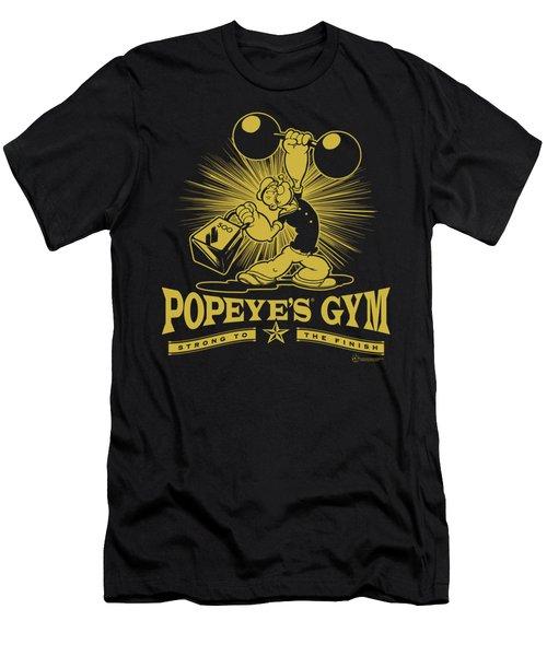 Popeye - Popeyes Gym Men's T-Shirt (Slim Fit) by Brand A