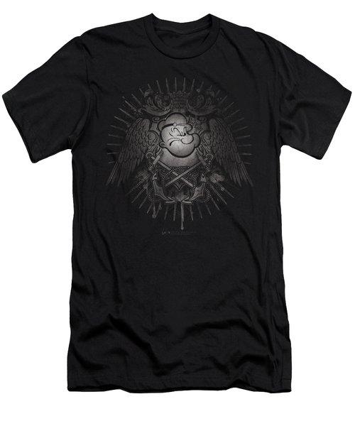 Popeye - Sailor Heraldry Men's T-Shirt (Slim Fit) by Brand A