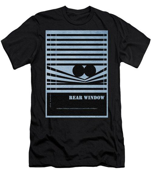 Rear Window Men's T-Shirt (Slim Fit) by Ayse Deniz