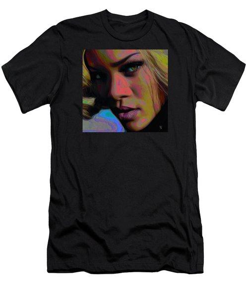 Ri Ri Men's T-Shirt (Slim Fit) by  Fli Art