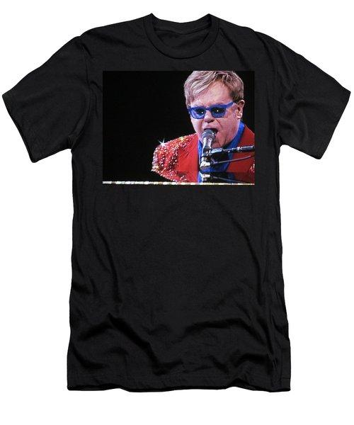 Rocket Man Men's T-Shirt (Slim Fit) by Aaron Martens