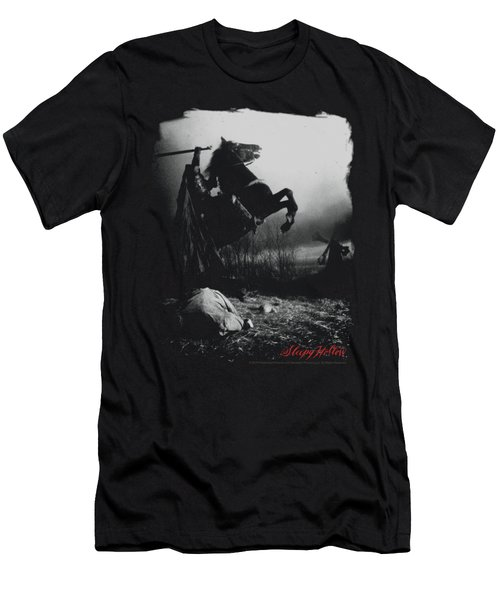 Sleepy Hollow - Foggy Night Men's T-Shirt (Slim Fit) by Brand A