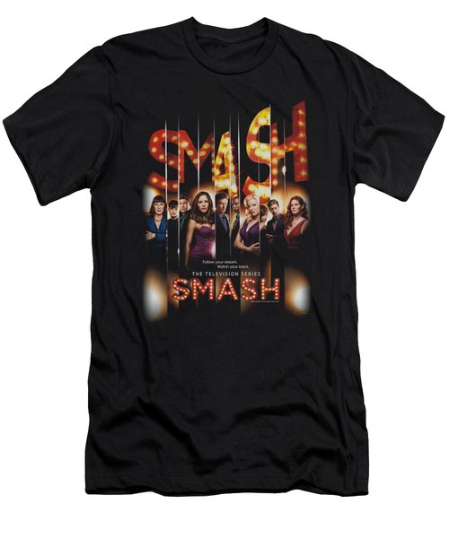 Smash - Poster Men's T-Shirt (Slim Fit) by Brand A
