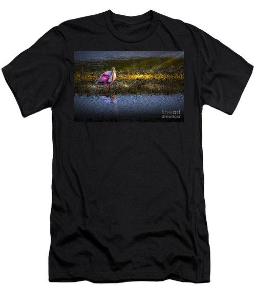 Spotlight Men's T-Shirt (Slim Fit) by Marvin Spates