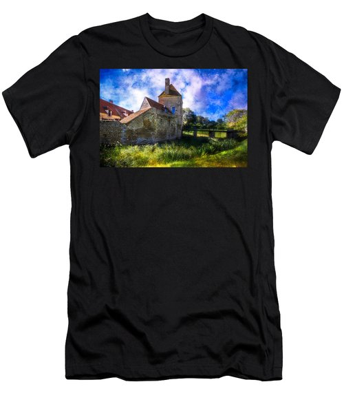 Spring Romance In The French Countryside Men's T-Shirt (Slim Fit) by Debra and Dave Vanderlaan