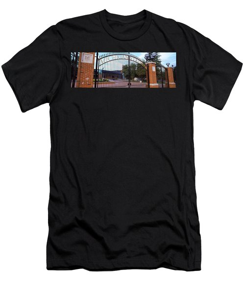 Stadium Of A University, Michigan Men's T-Shirt (Slim Fit) by Panoramic Images