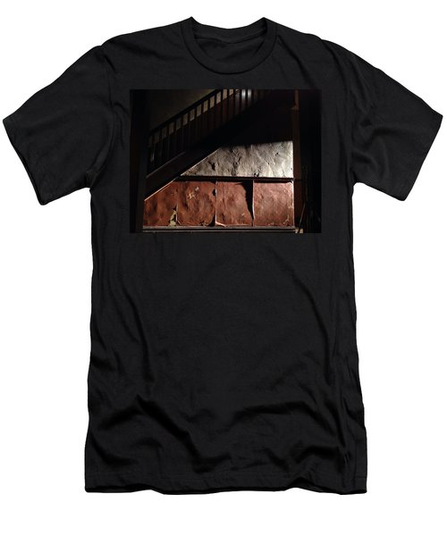 Stairwell Men's T-Shirt (Slim Fit) by H James Hoff