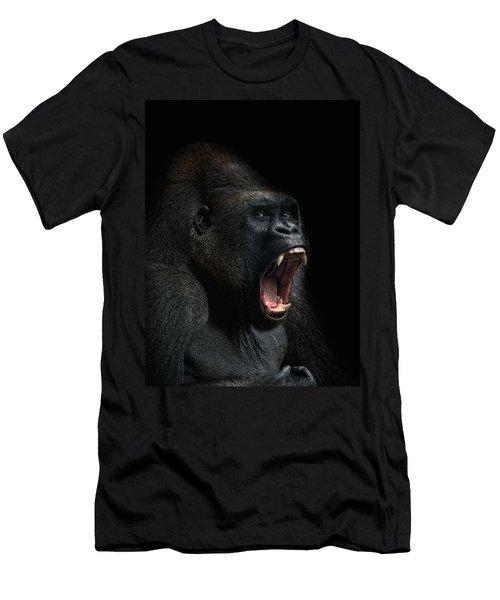 Stay Away Men's T-Shirt (Slim Fit) by Joachim G Pinkawa