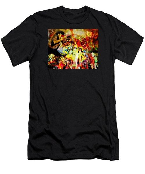 Stone Temple Pilots Original  Men's T-Shirt (Slim Fit) by Ryan Rock Artist