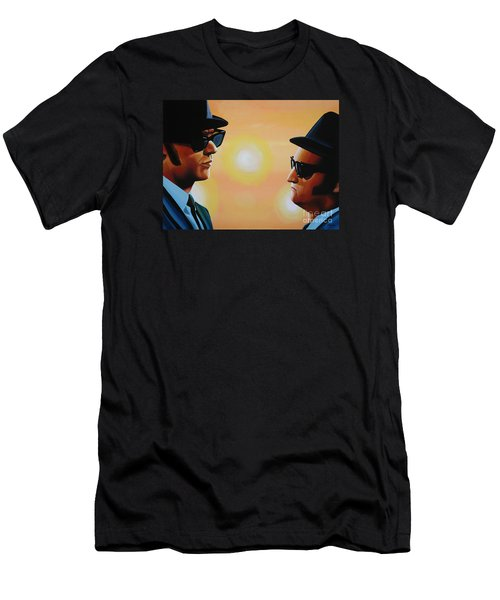 The Blues Brothers Men's T-Shirt (Slim Fit) by Paul Meijering